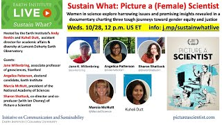 Sustain What - Picture a (Female) Scientist