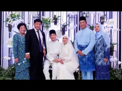 Deputy Prime Minister Tan Sri Muhyiddin Yassin Daughter, Najwa Mahiaddin Weds Her Dream Man