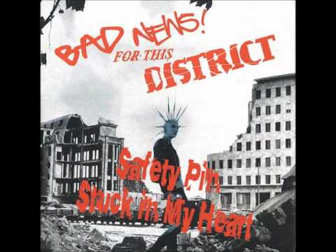 District - Safety Pin Stuck In My Heart