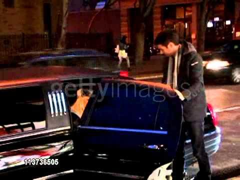 Christina Aguilera and her new boyfriend Matt Rutler enter a music studio  in New York 05/04/11