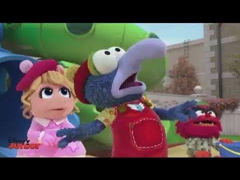 Gonzo Asustado Por Camila Muppet Babies Disney Junior