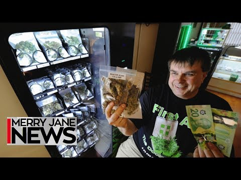 The Future of Convenience: Weed Vending Machines Are Coming | MERRY JANE News
