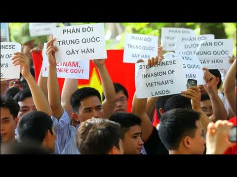 Biểu Tình Phản đối Trung Quốc ở Hà Nội