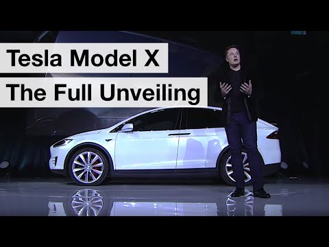 Tesla Model X - The Official Launch Event HD