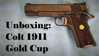 Un Boxing Colt 1911 Gold Cup National Match Series 70 Youtube