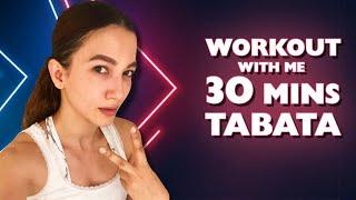 Workout With Me | 30mins Tabata | Gauahar Khan