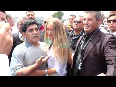 Maradona all'Offshore di Napoli (Xcat Cup)