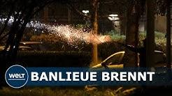 PROTESTE GEGEN POLIZEI: Schwere Krawalle in Pariser Vorort dauern an