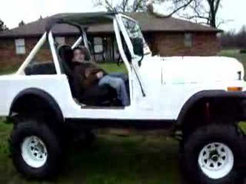 1982 Cj 7 35 Inch Swampers 6 Inches Of Lift Youtube