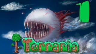 Прохождение Terraria #1 - Чудесный мир