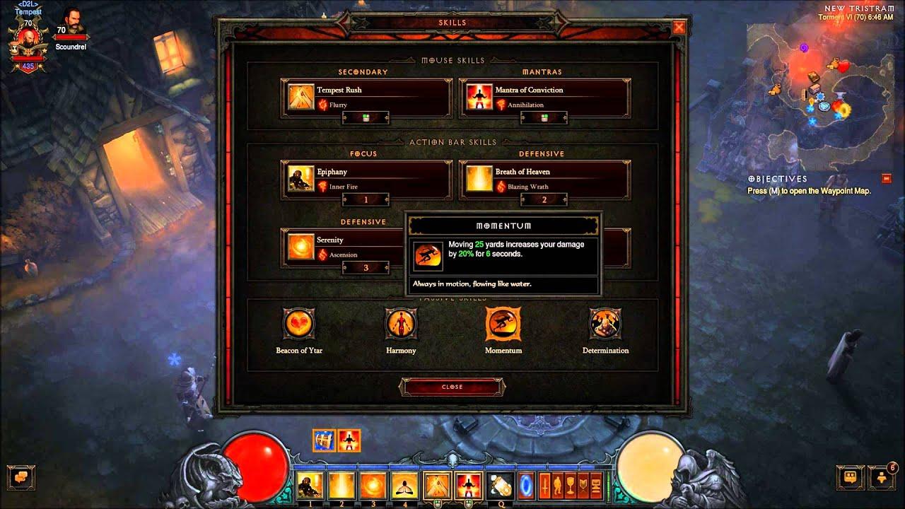Best Monk Diablo  Build