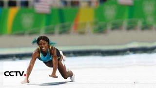 Багамская бегунья завоевала золото Олимпиады в Рио в беге на 400 метров