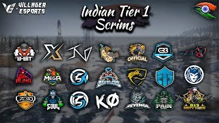 [Hindi] Indian 🇮🇳 Tier 1 Scrims (Phase 2 - Day 1) • PUBG Mobile • Villager Esports | Bluestacks