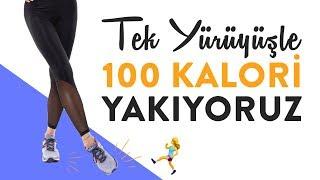 Tek Yürüyüşle 100 Kalori Yakıyoruz