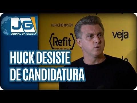 Luciano Huck desiste de candidatura