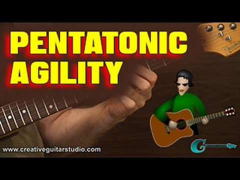 GUITAR TECHNIQUE: Pentatonics for Fingerboard Agility