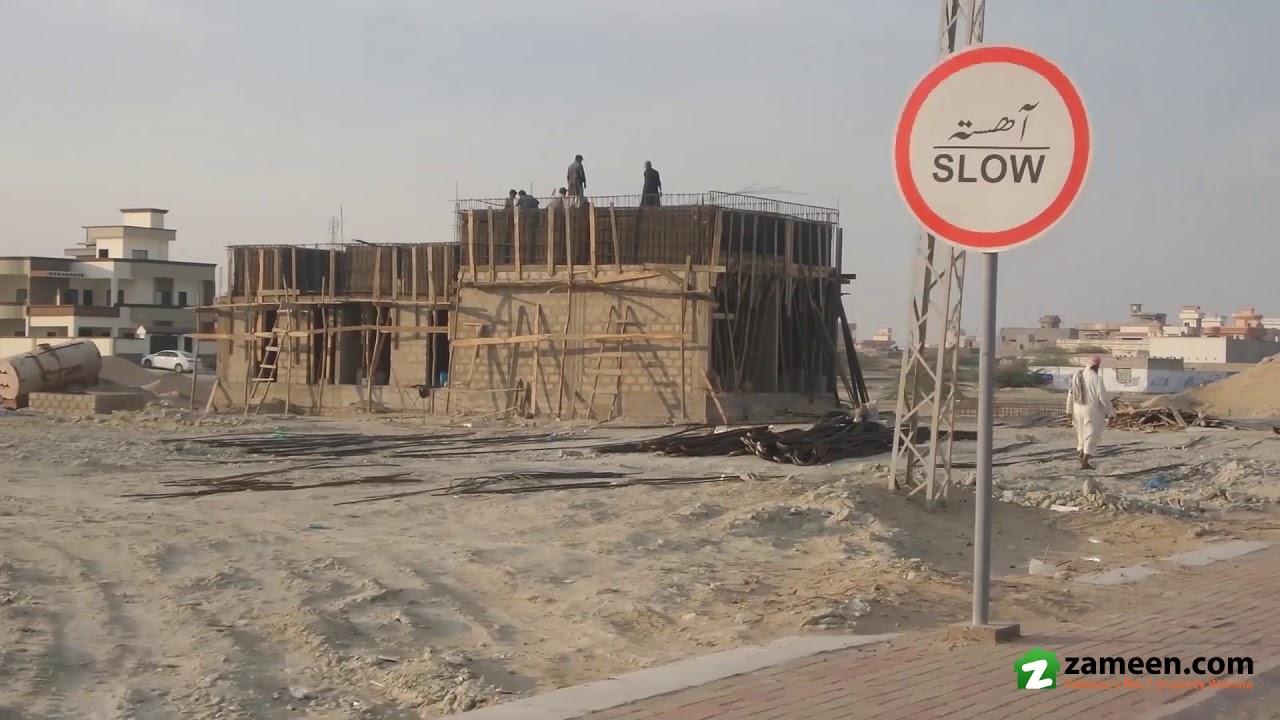 120 SQ YARD PLOT IN MADINA CITY HOUSING SCHEME JINNAH AVENUE GWADAR