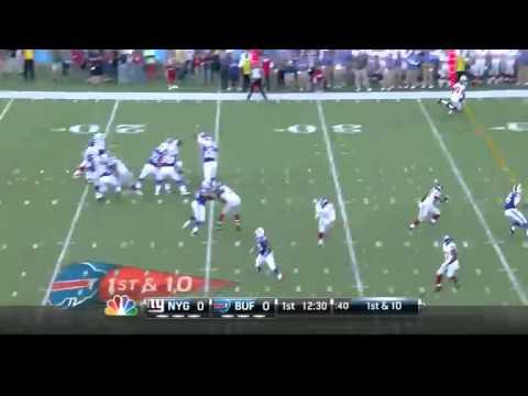 Giants VS Bills Hall Of Fame Game 2014 HIGHLIGHTS
