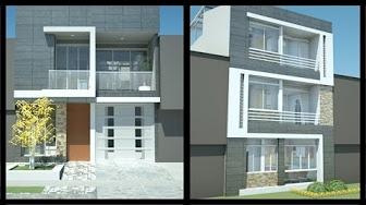 Casas 6x20 youtube for Planos de casas 6x20