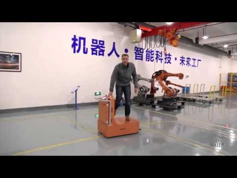 Shanghai Step Robotics - Introduction From The Globe and Mail ( Canada )
