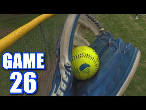 I FINALLY ROB A HOME RUN! | Offseason Softball League | Game 26
