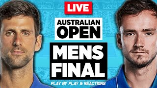 🔴 DJOKOVIC vs MEDVEDEV | Australian Open 2021 | LIVE Tennis Play-by-Play