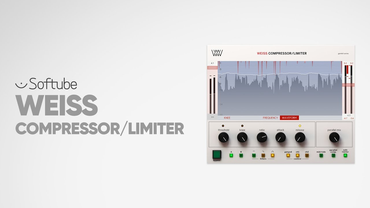 Introducing Weiss Compressor/Limiter – Softube