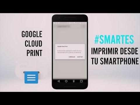 Aprende a imprimir documentos desde tu smartphone #SMARTES