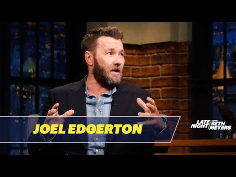 Joel Edgerton Would Be a Very Bad Spy