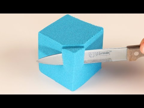 WORLD'S MOST SATISFYING KINETIC SAND!