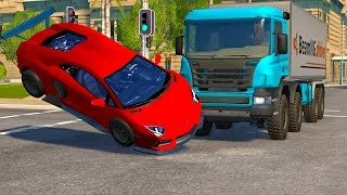 BeamNG Drive High Speed Crash Compilation Montage #13