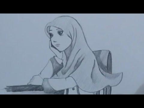 cara-menggambar-kartun-islami-untuk-pemula-  -proses-demi-proses