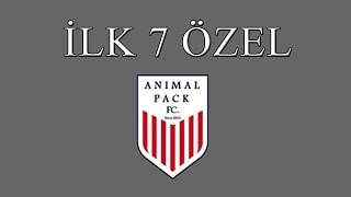 ilk 7 Özel Animal Pack