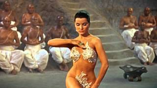 The Indian Tomb - Debra Paget - Snake Dance Scene - HD