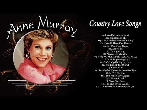 Anne Murray Greatest Hits Country Love Songs - Best Songs of Anne Murray Playlist Old Country Hits