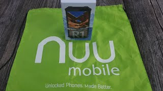 NUU Mobile R1 Unboxing / Quick Hands On THIS PHONE IS A TANK!