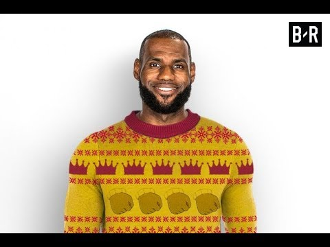 BR Designs Ugly Christmas Sweaters for NBA's Top Stars