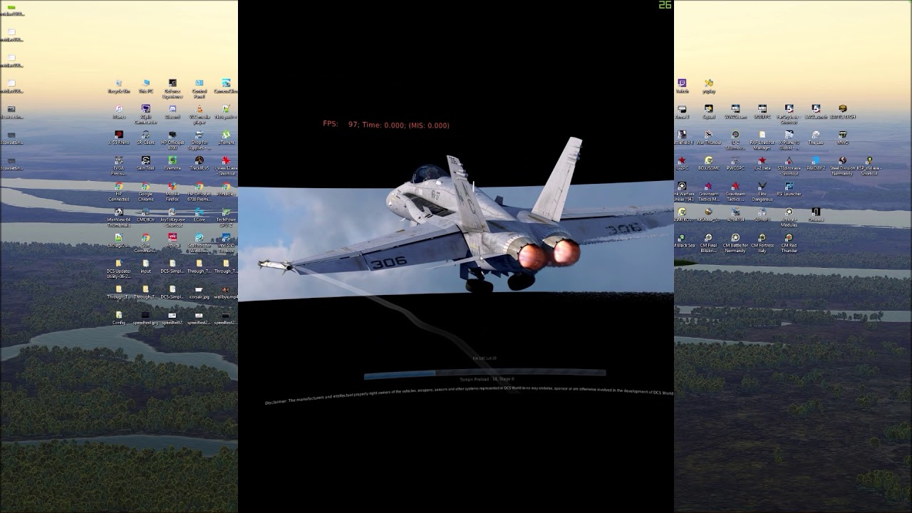 Mastiffs Games DCS World VR settings