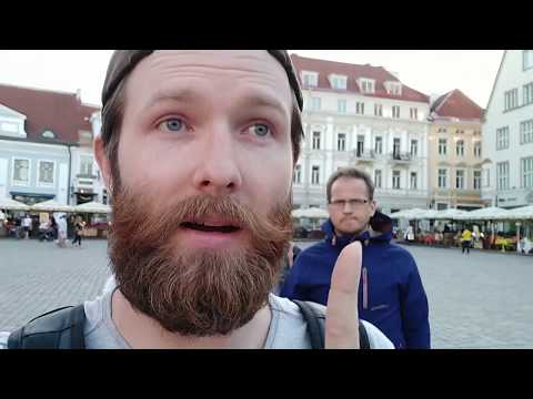 WE MADE IT TO TALLINN, ESTONIA || Poland - Russia Road-trip day 6