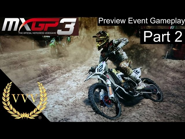 MXGP3 Reveal Gameplay Part 2