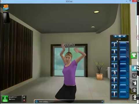 3D Chat - Dances for single avatar - PC