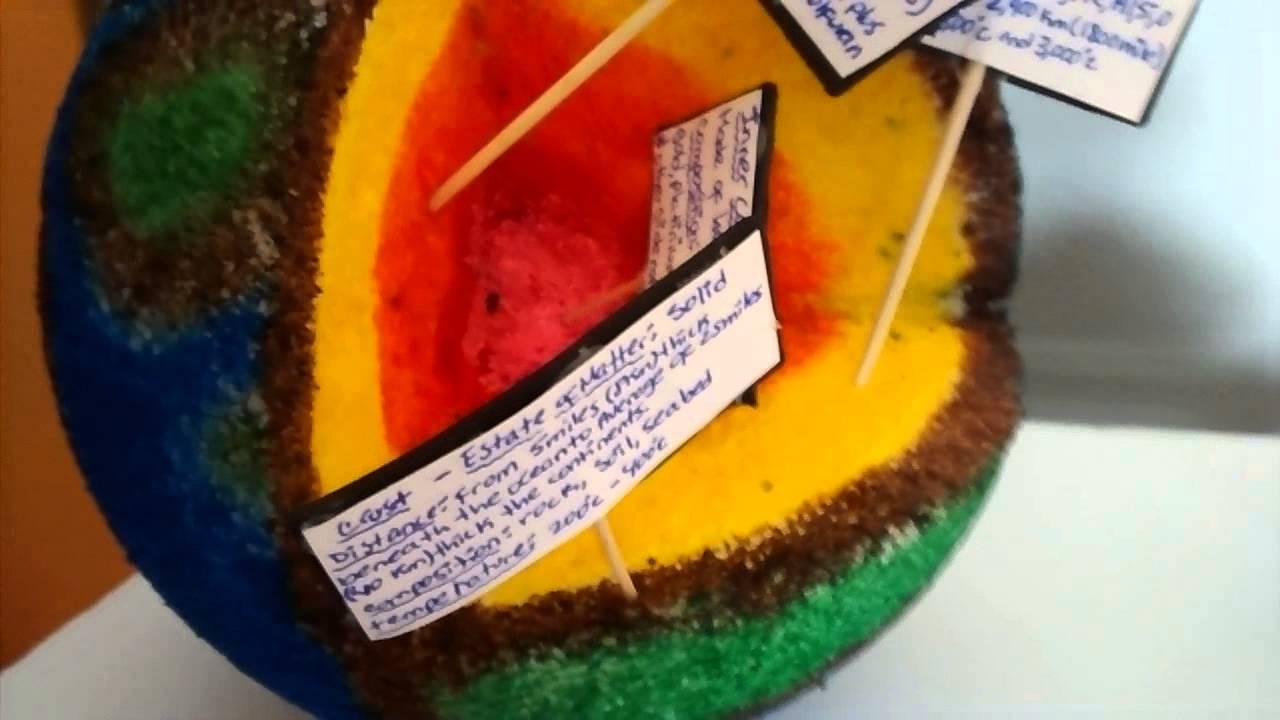 Earth Cake Layers