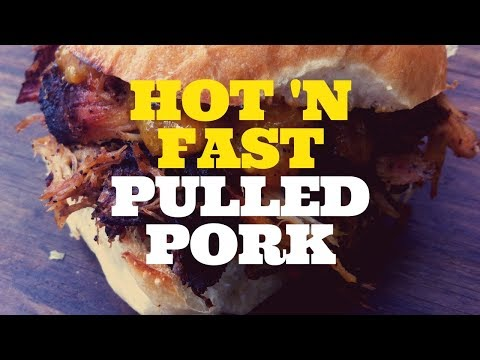 hot-n-fast-bbq-smoked-pulled-pork---weber-kettle-grill-with-the-slow-'n-sear
