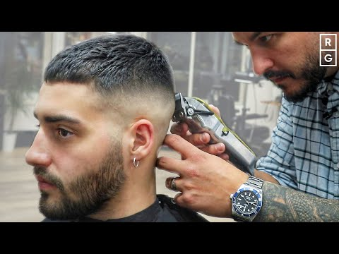 short-crop-haircut- -simple-short-fade-haircut-for-men