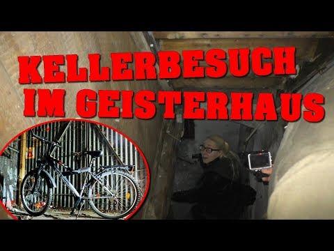 LOST PLACE: FAHRRAD IM GEISTERHAUS GEFUNDEN! | KELLERBESUCH