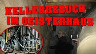 LOST PLACE: FAHRRAD IM GEISTERHAUS GEFUNDEN!   KELLERBESUCH