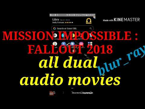Download in bluray all dual audio movies |mission impossible:fallout2018|  links in description