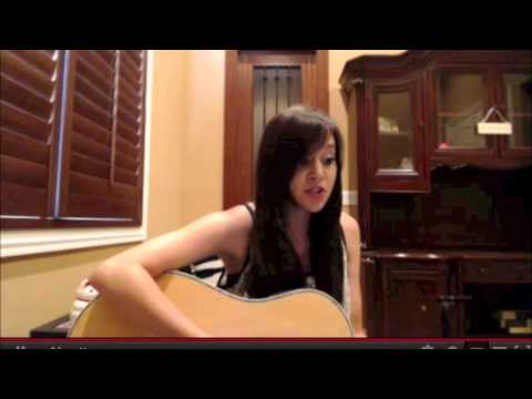 Megan Nicole is singing Payphone on LIVE CHAT 7/30/12