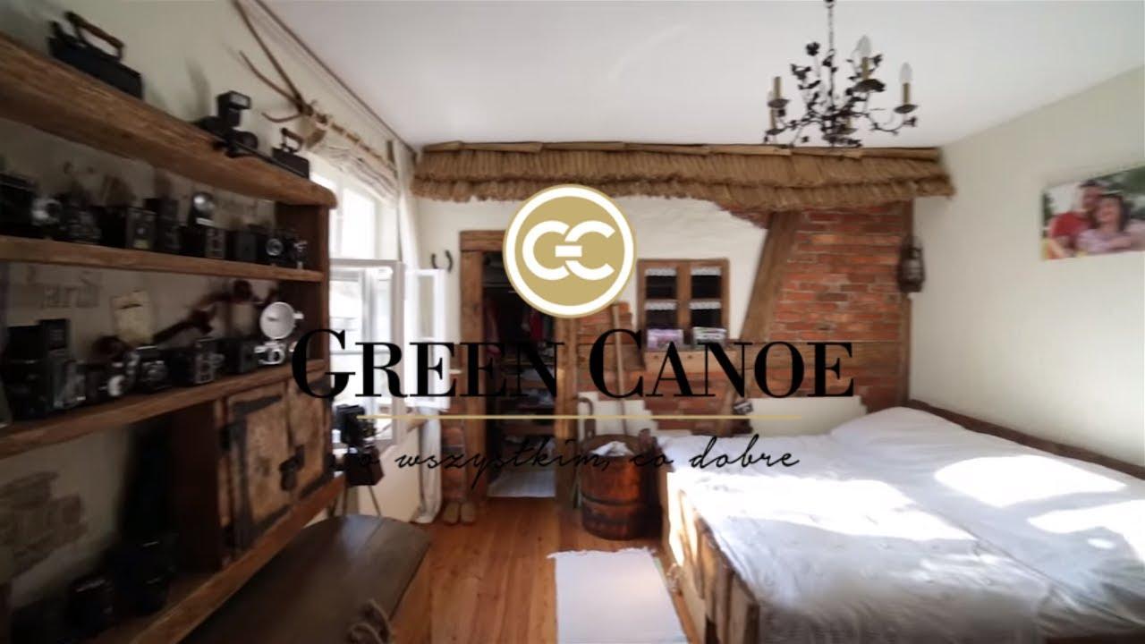 WNĘTRZARSKIE PODRÓŻE Green Canoe - styl rustykalny - stary dom z duszą