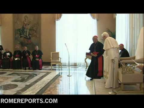 Pope welcomes bishops of the Philippines